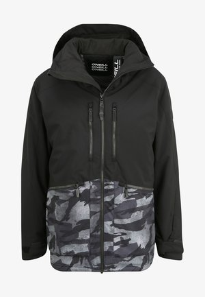 TEXTURE JACKET - Veste de snowboard - black out