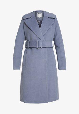 BELLA WRAP COAT - Classic coat - denim bluie