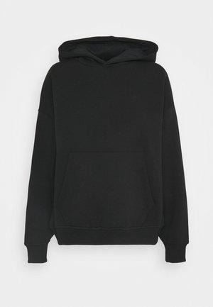 BASIC HOODIE - Sweatshirt - black