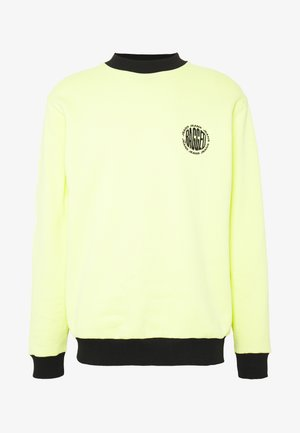CREWNECK GRAPHIC LOGO - Sweatshirts - yellow