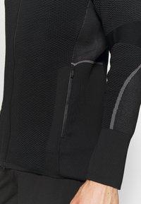 adidas Performance - MID LAYER - Mikina na zip - black - 4