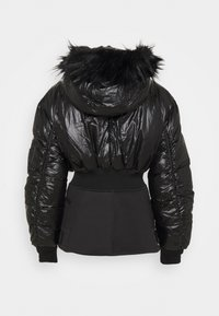 Diesel - W-ISOKE-SHINY - Winter jacket - black - 7