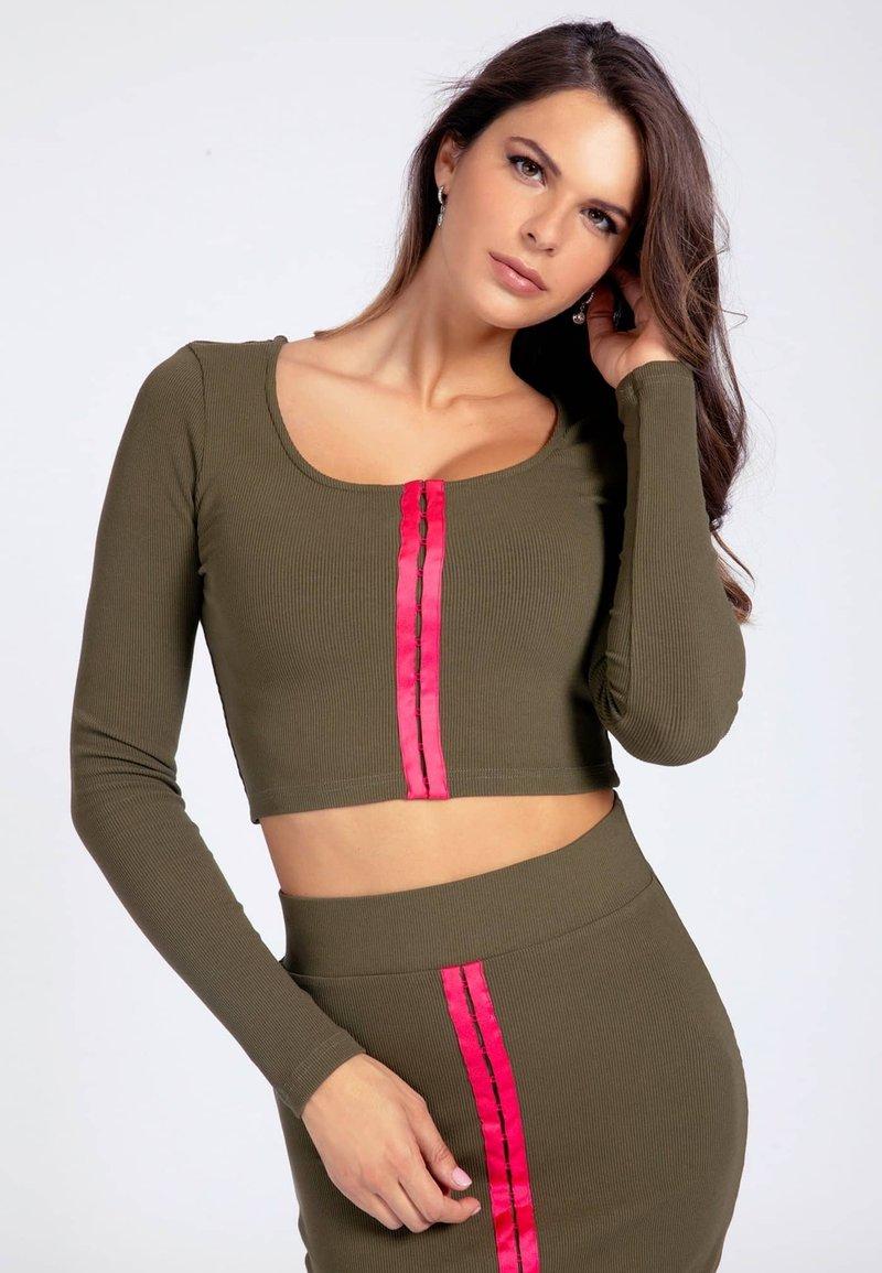 Guess - Long sleeved top - grün