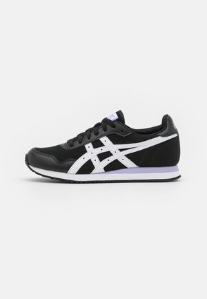 TIGER RUNNER - Sneakers basse - black/white