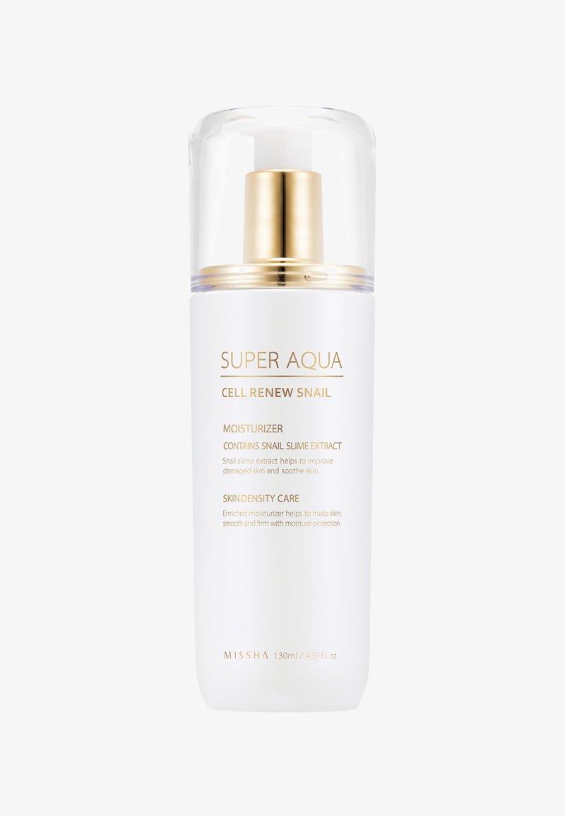 Missha - SUPER AQUA CELL RENEW SNAIL ESSENTIAL MOISTURIZER 130ML - Face cream - -