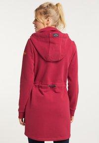 Schmuddelwedda - Zip-up hoodie - rot - 2