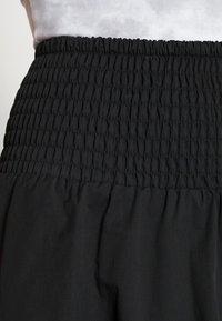 Moss Copenhagen - LANA SKIRT - Mini skirt - black - 4