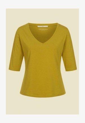 Basic T-shirt - golden green