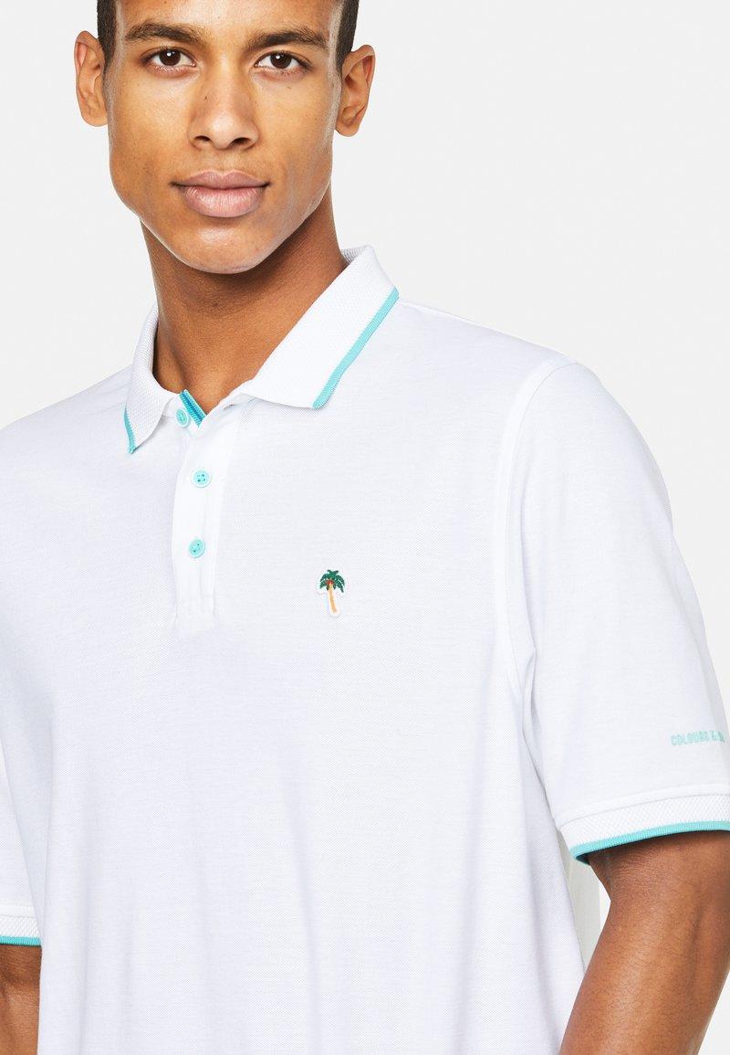 Colours & Sons - DORIAN - Polo shirt - weiß