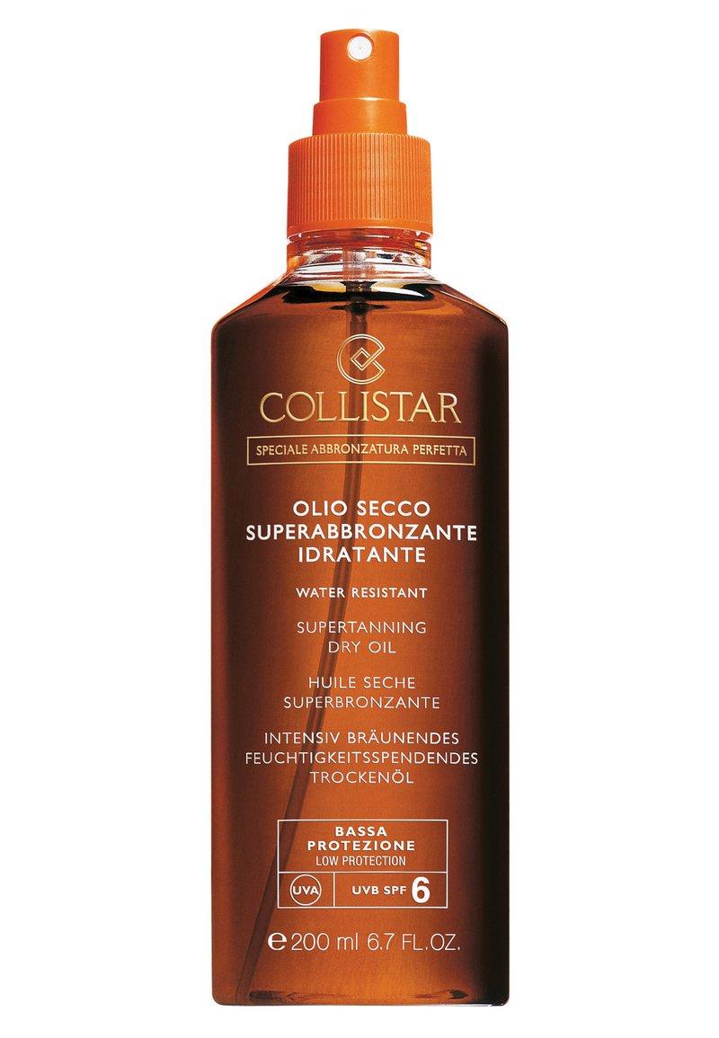 Collistar - SUPERTANNING DRY OIL SPF 6 - Sun protection - -