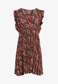 Cache Cache - MIT PLISSIERTEM SAUM - Korte jurk - rouge - 4