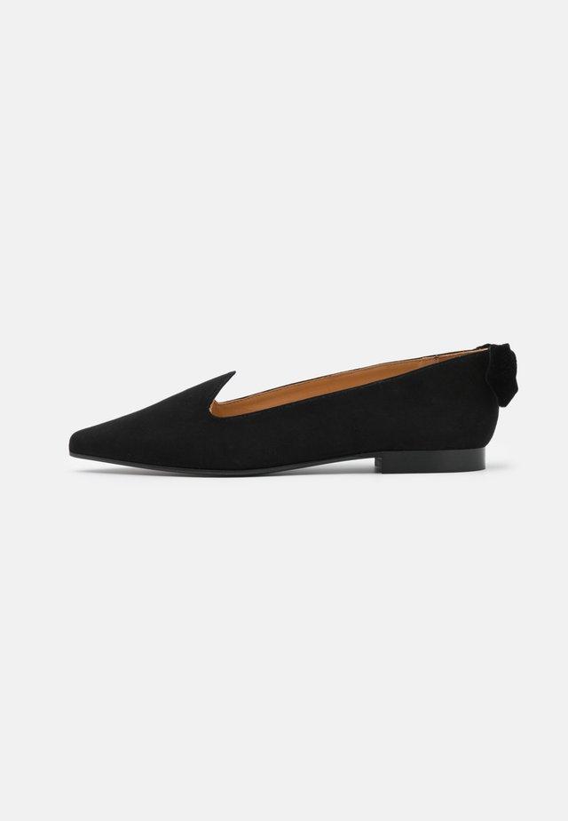POINTY CLASSIC BOW - Baleriny - black