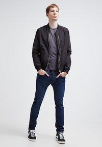 Pier One - T-shirt - bas - dark grey melange - 1