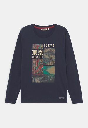 JURA - Camiseta de manga larga - navy