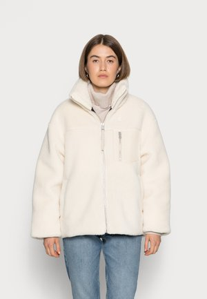 BACK EMBROIDERY SHERPA JACKET - Winter jacket - muslin
