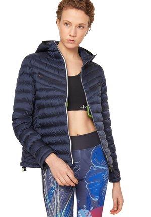 Outdoor jacket - navy-blau