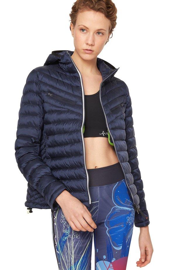 Outdoorjas - navy-blau