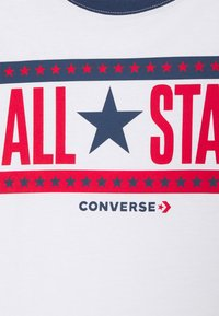 Converse - STARS AND STRIPES - Triko spotiskem - white - 2