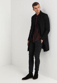 Pier One - Classic coat - black - 1