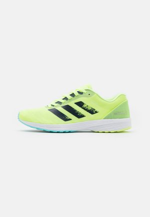 ADIZERO RC 3 - Competition running shoes - hi-res yellow/crew navy/clear aqua