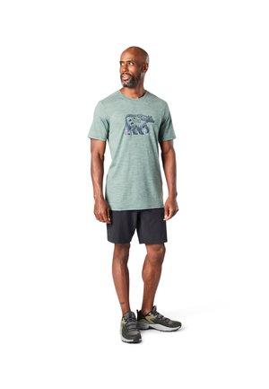 T-shirt imprimé - sage heather