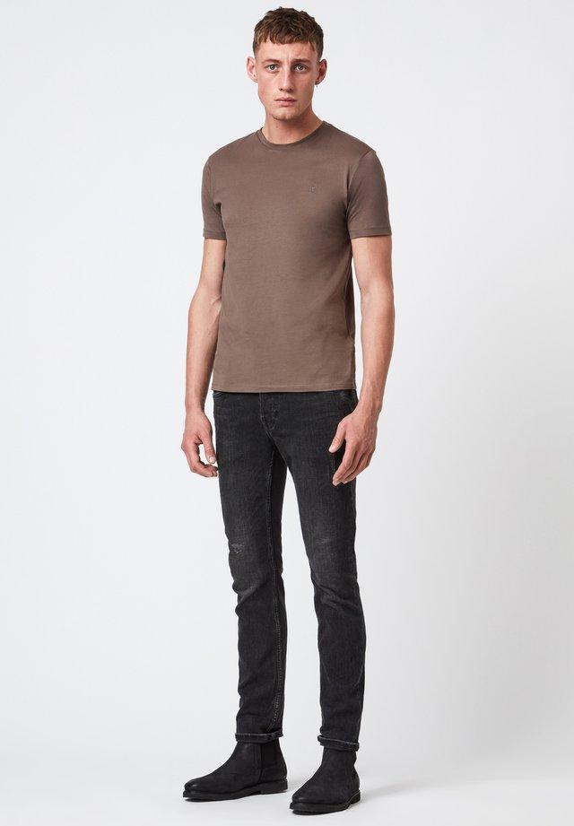 BRACE - T-shirt basique - brown
