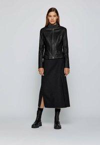 BOSS - SANOA - Leather jacket - black - 1