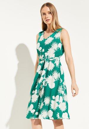 BLÜTENMUSTER - Day dress - green big flower