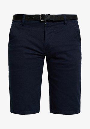 CLASSIC  BELT - Shorts - navy