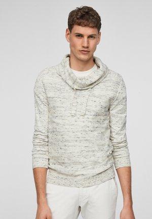 TRUI - Pullover - offwhite melange