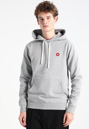 IAN - Felpa con cappuccio - grey melange