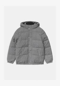 Calvin Klein Jeans - REFLECTIVE LOGO TAPE - Zimní bunda - black/silver - 0
