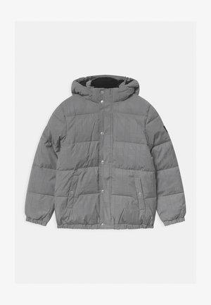 REFLECTIVE LOGO TAPE - Winter jacket - black/silver
