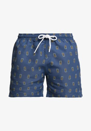 PINEAPPLE SWIM SHORTS - Swimming shorts - vintage blue