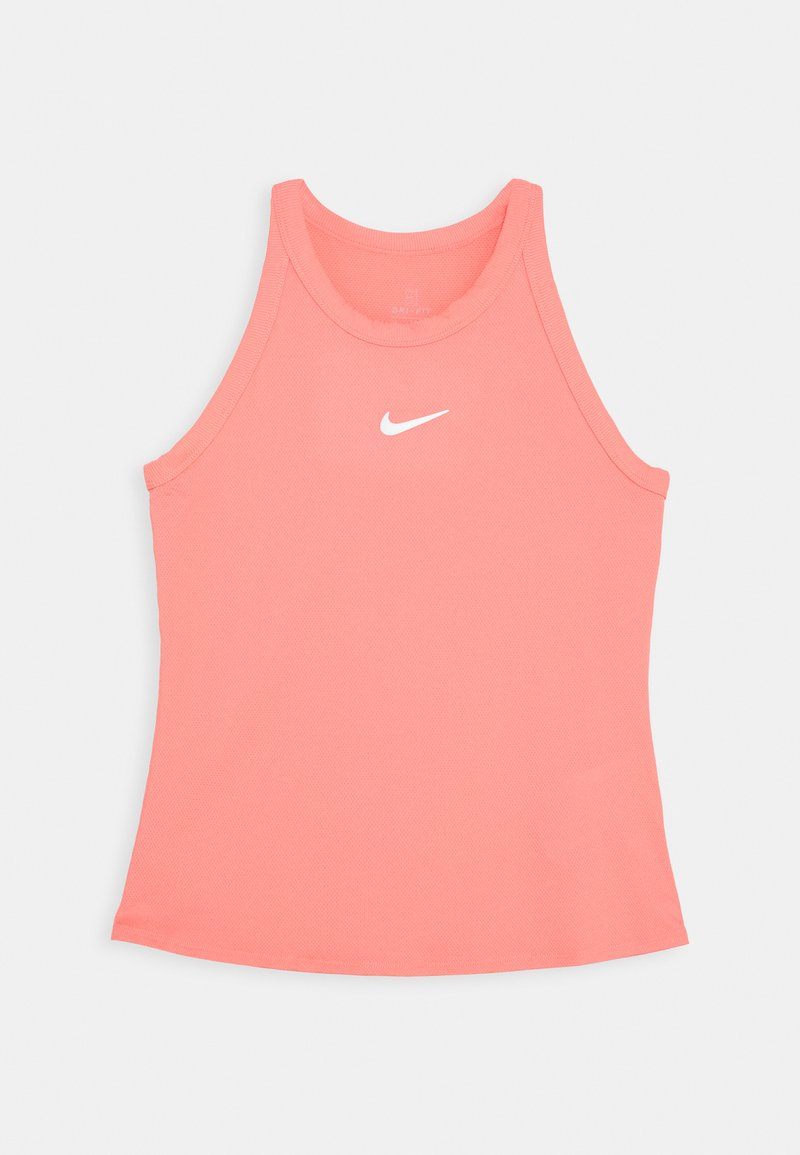 Nike Performance - DRY TANK - Funkční triko - sunblush/white