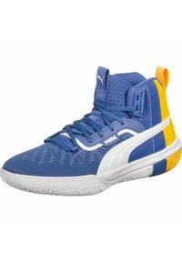 Puma - LEGACY MADNESS - Basketballschuh - blue-ultra yellow - 2
