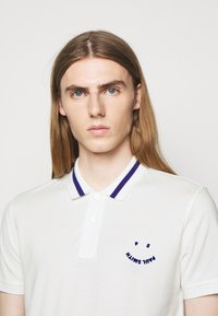 PS Paul Smith - MENS SLIMFIT FACE - Polo shirt - white - 3