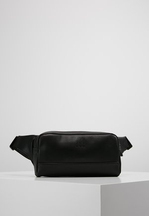 WAIST PACK - Ledvinka - black