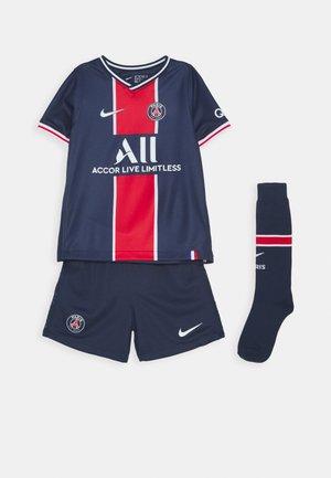 PARIS ST GERMAIN HOME SET - Sports shorts - midnight navy/white