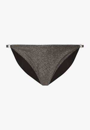 STRAPPY SHINY - Spodní díl bikin - dark grey