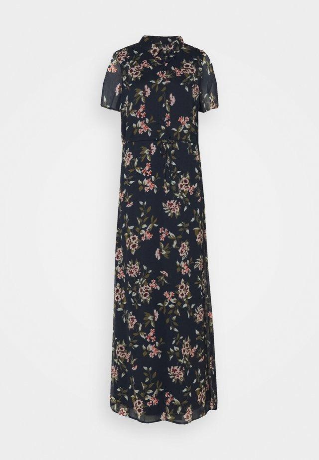 VMKAY ANKLE SHIRT DRESS - Košilové šaty - navy blazer