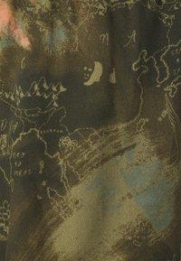 Hunkemöller - SHORT WORLD MAP - Pyjama bottoms - martine olive - 5