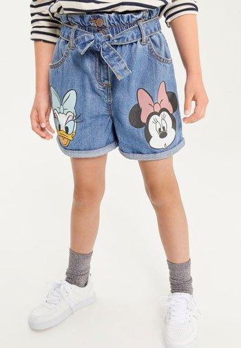 PAPERBAG - Denim shorts - blue