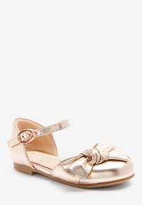Next - Ankle strap ballet pumps - rose gold-coloured - 1