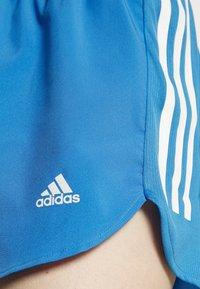 adidas Performance - RUN IT SHORT - Sports shorts - focus blue/white - 4