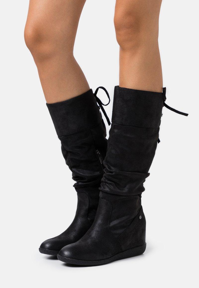 mtng - KONG - Wedge boots - karma black