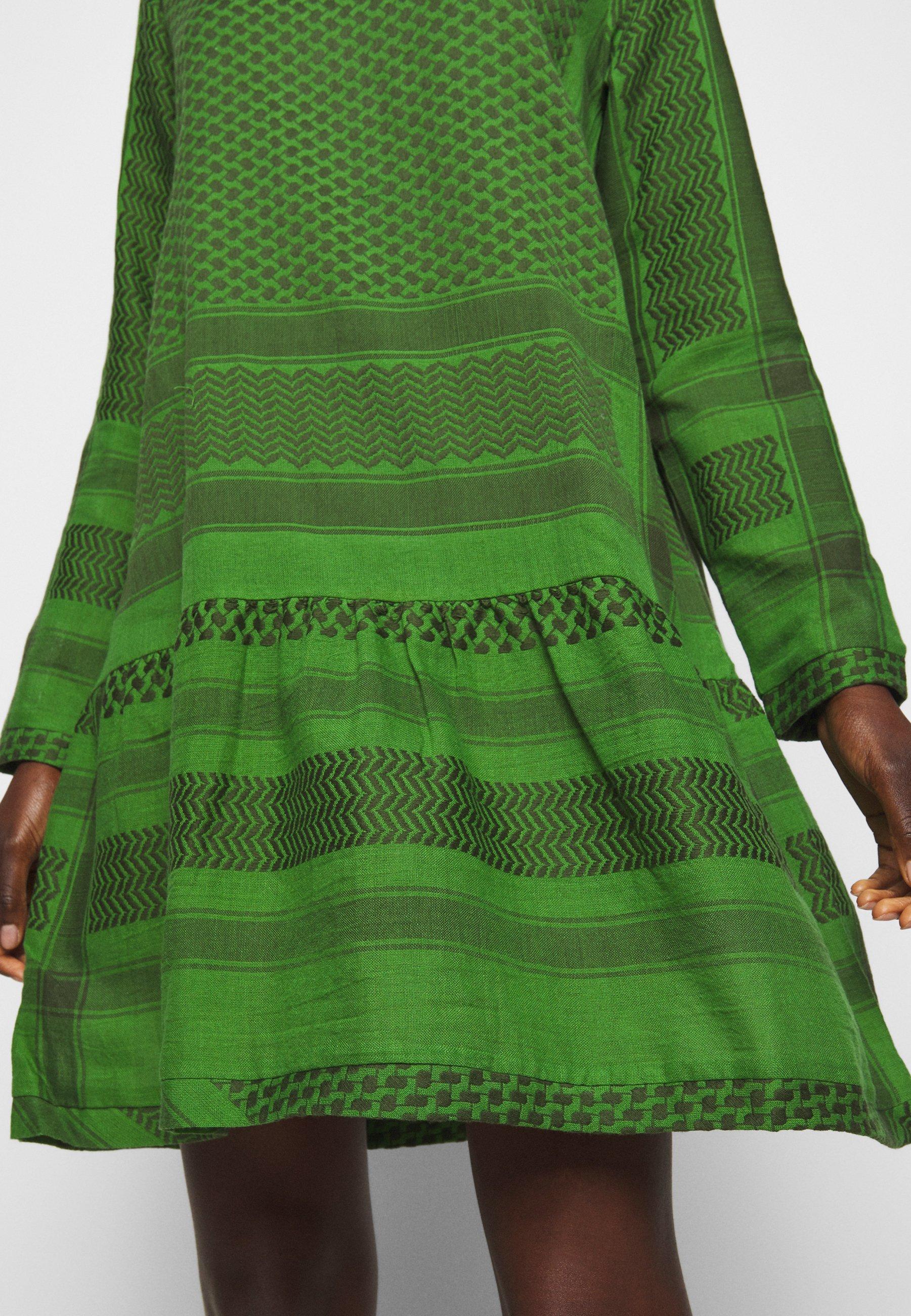 CECILIE copenhagen DRESS Freizeitkleid moss/grün