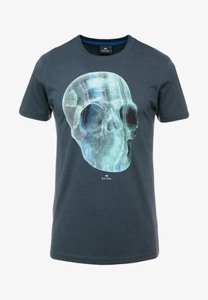 CRYSTAL SKULL - Print T-shirt - anthracite