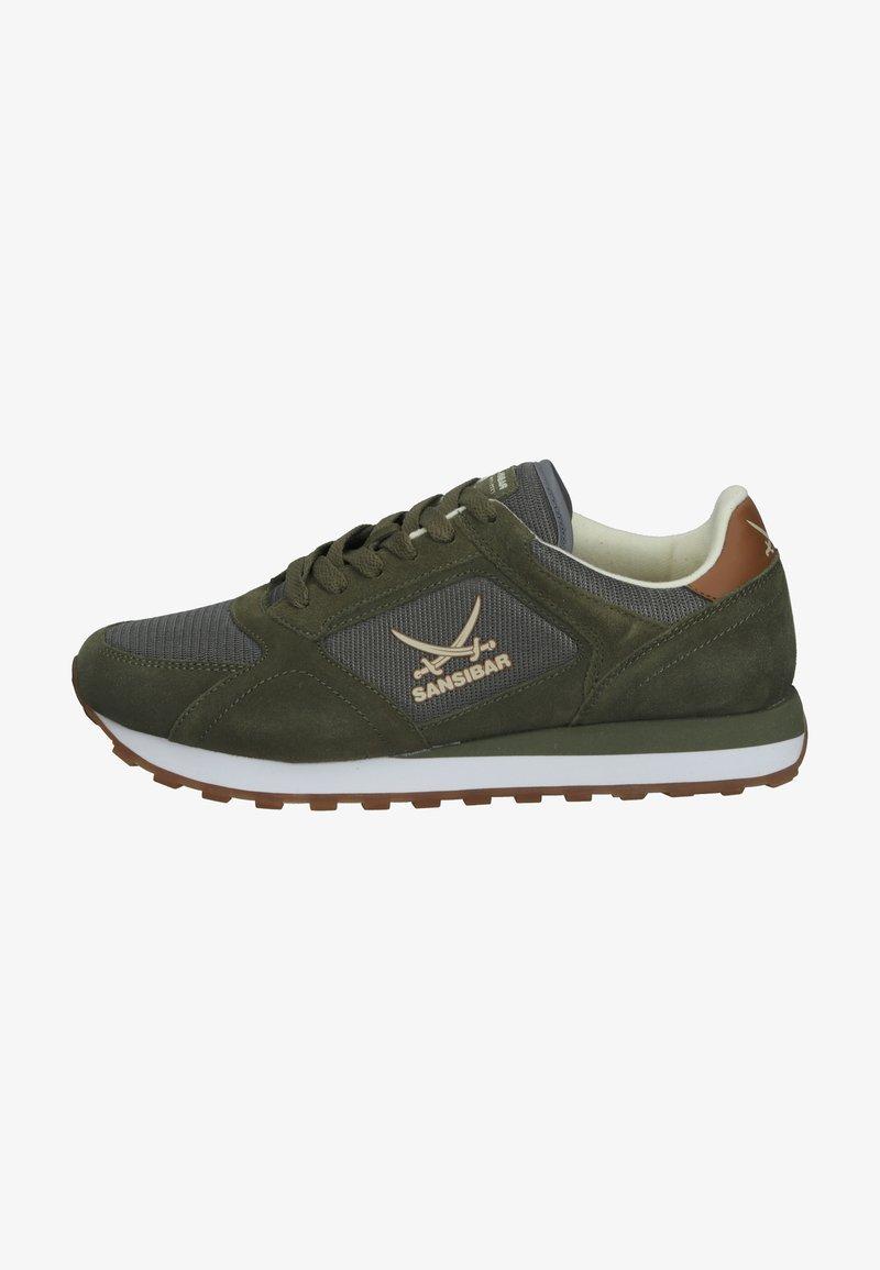 Sansibar Shoes - Sneakersy niskie - olivegrün