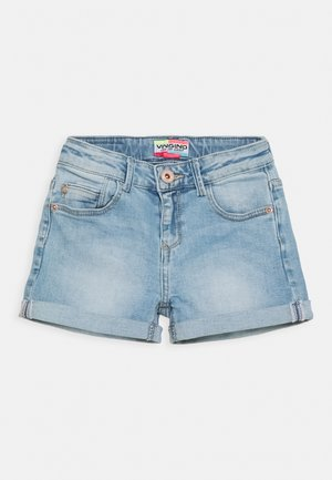 DAIZY - Denim shorts - light indigo